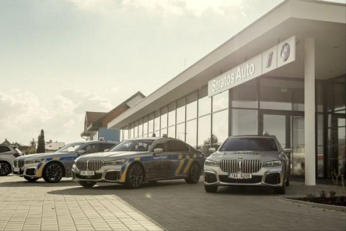 BMW 745 Le xDrive dla policji