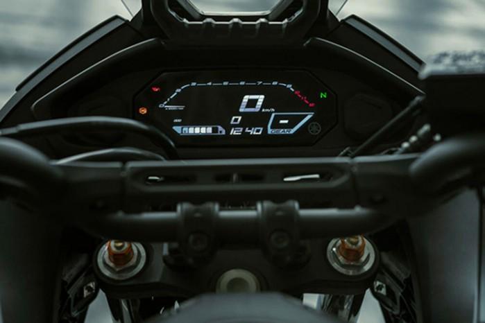 2020 Yamaha Tracer 700 kokpit