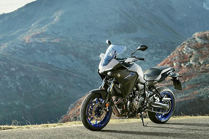 2020 Yamaha Tracer 700 lewy bok