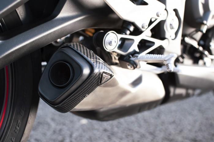 Triumph Street Triple RS 2020 wydech