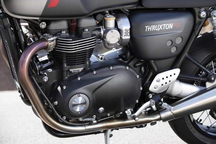 110419 2020 Triumph Thurxton RS Thruxton RS Engine LH
