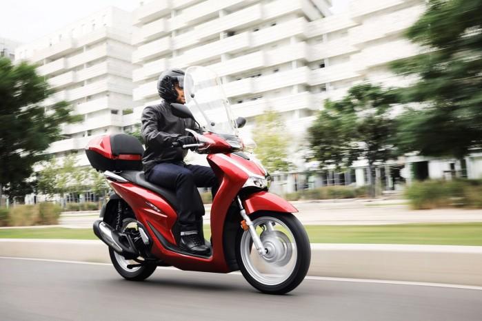 Honda SH125i 2020 dynamika
