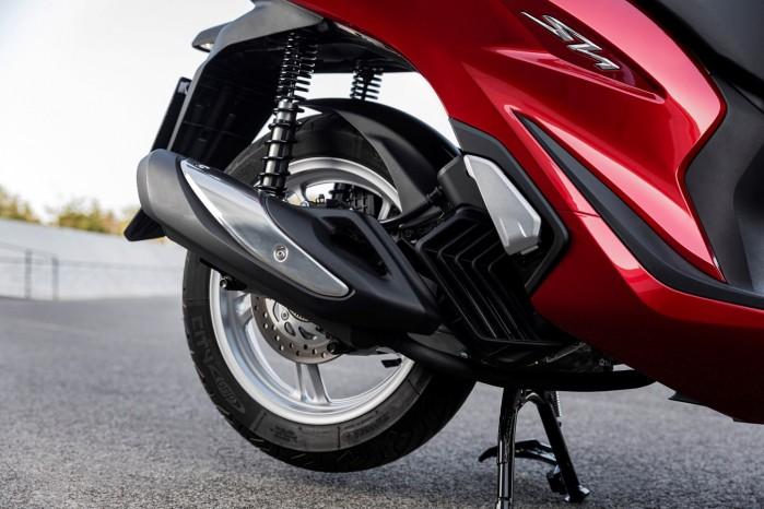 Honda SH125i 2020 wydech