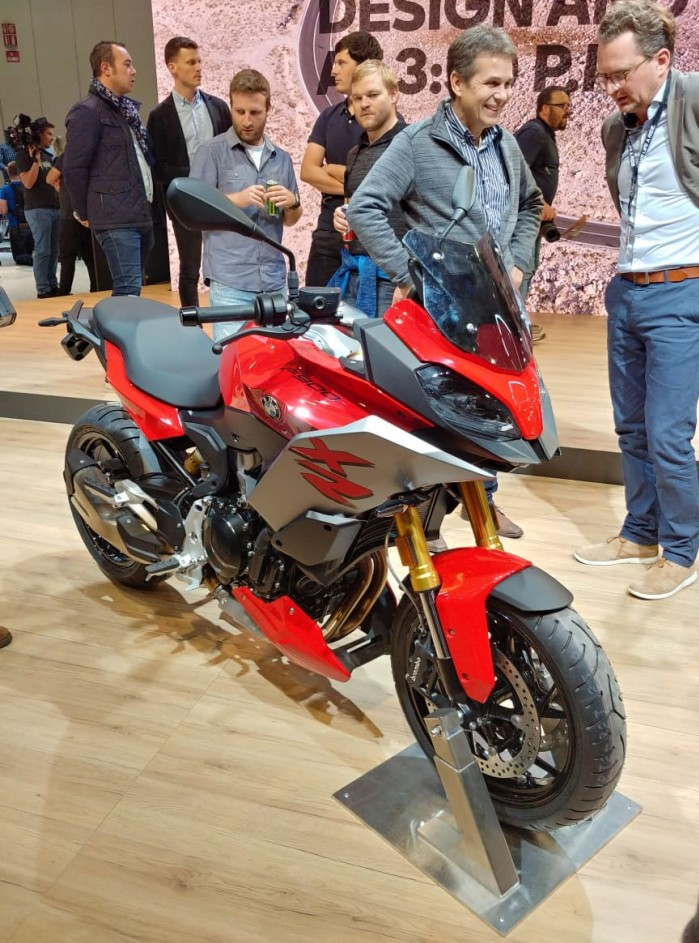 eicma 2019 bmw f900XR