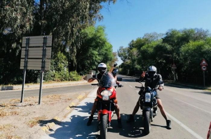 Sardynia na motocyklu