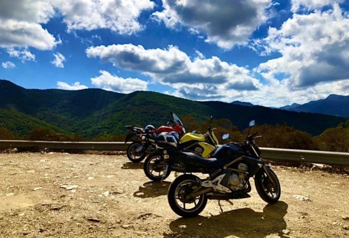 Sardynia turystyka motocyklowa