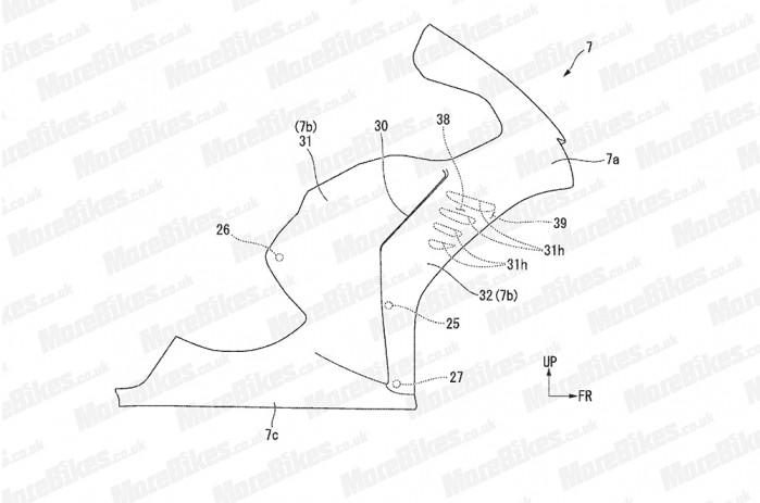 honda skrzydla patent 01
