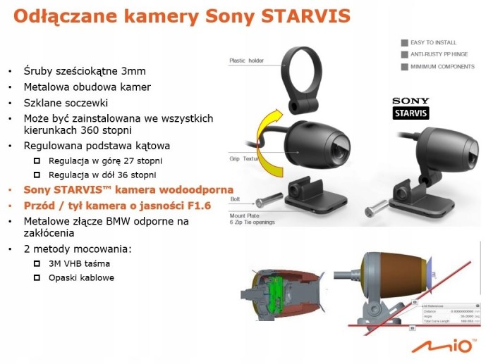 Mio Mivue M760D wideorejestrator