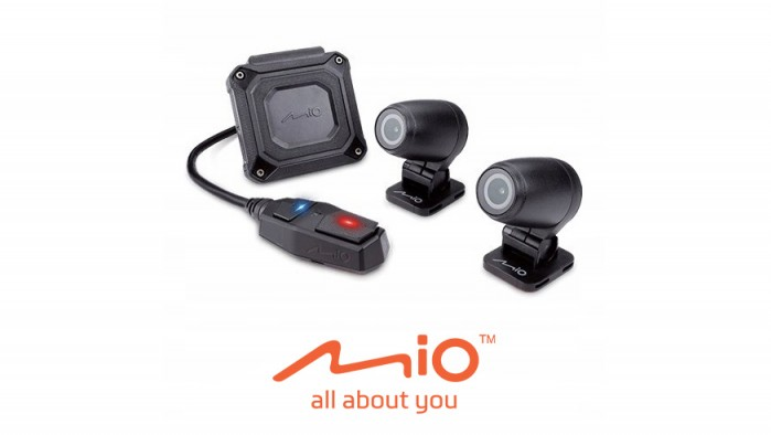 Mio Mivue rejestrator na motor M760D Dual Sony Starvis