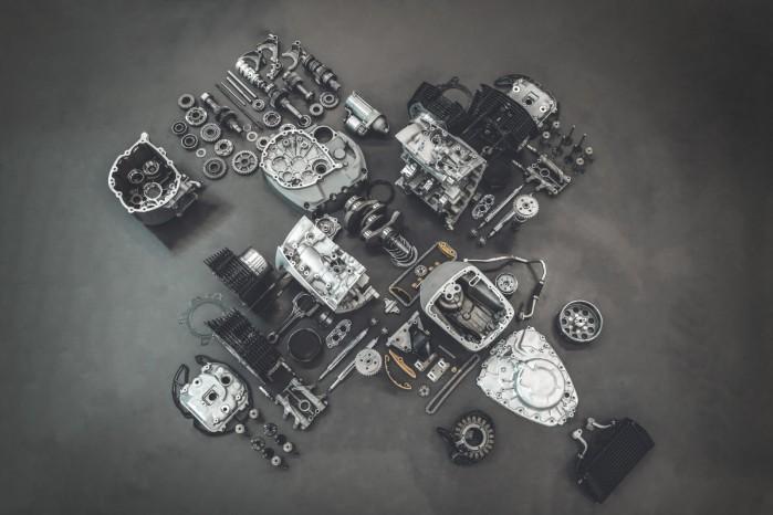 bmw r18 silnik rozlozony