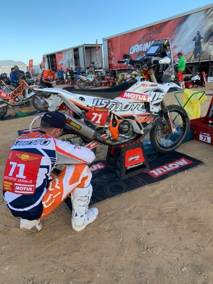 Dakar 2020 Krzysztof Jarmuz Stage 2 08.31.26