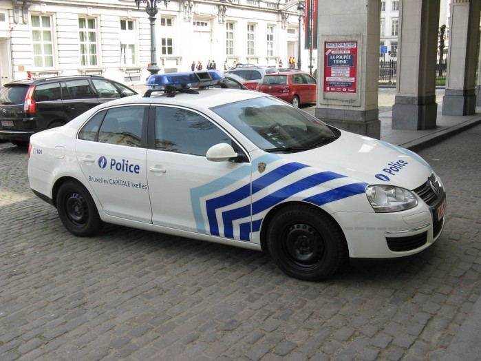 policja bruksela