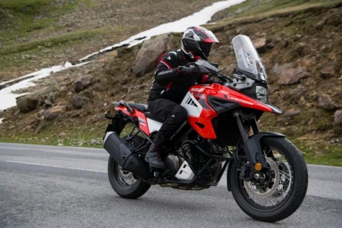 2020 Suzuki V Strom 1050 droga prawy przod