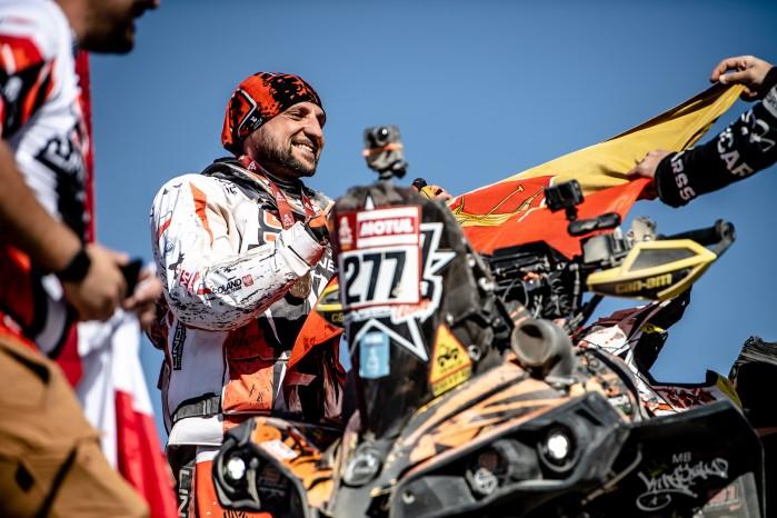 Arkadiusz Lindner meta Dakar 2020 M51 6643