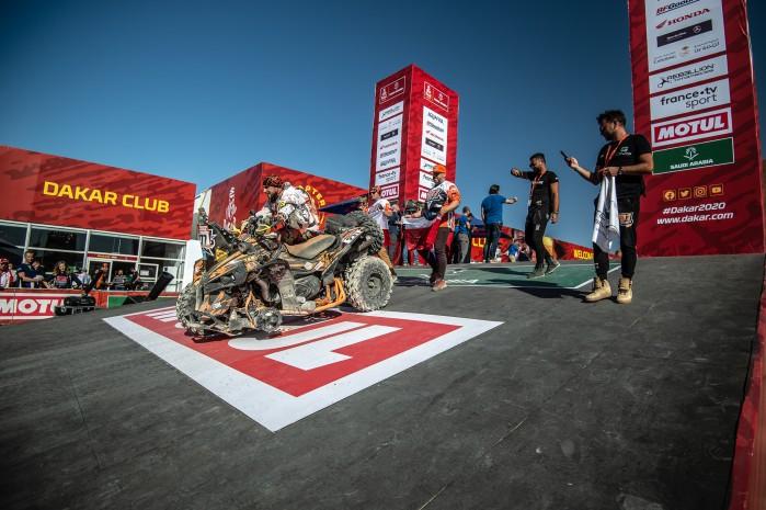 Dakar 2020 Arkadiusz Lindner meta M52 0959