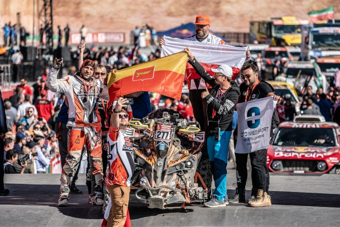 Dakar Rally 2020 Arkadiusz Lindner finish M2102333