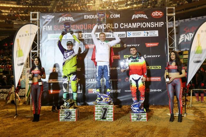 SuperEnduro La Coruna podium Junior