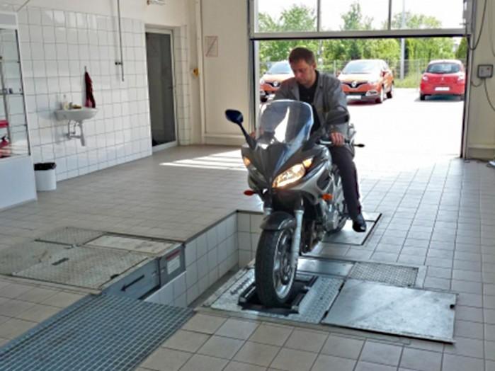 przegld techniczny motocykla
