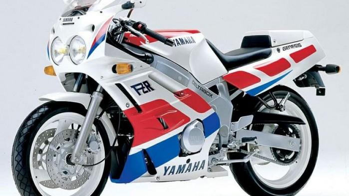 Yamaha FZR600R 2