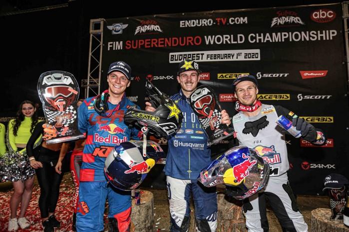 SuperEnduro Budapeszt podium Prestige