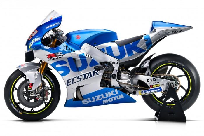 Ecstar Suzuki 2020 left