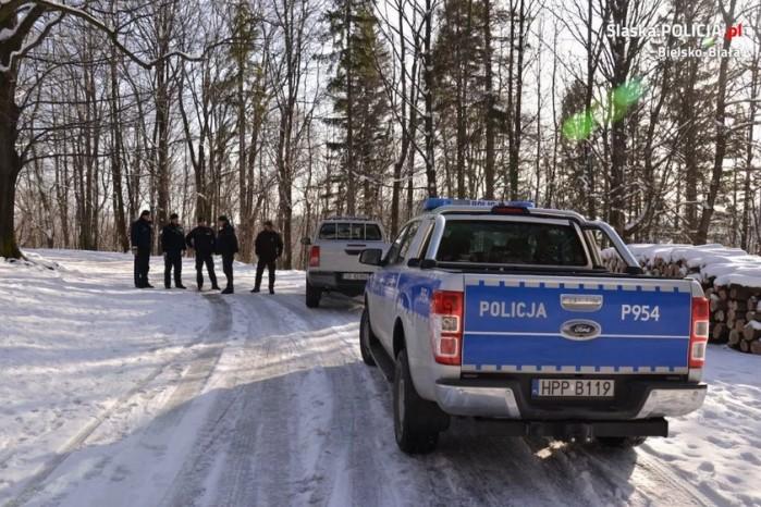 straz lesna policja beskid
