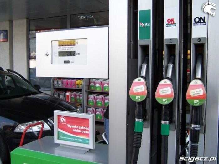 dystrybutor stacja benzynowa