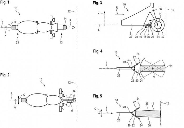 bmw patent strefa zgniotu w motocyklu 02