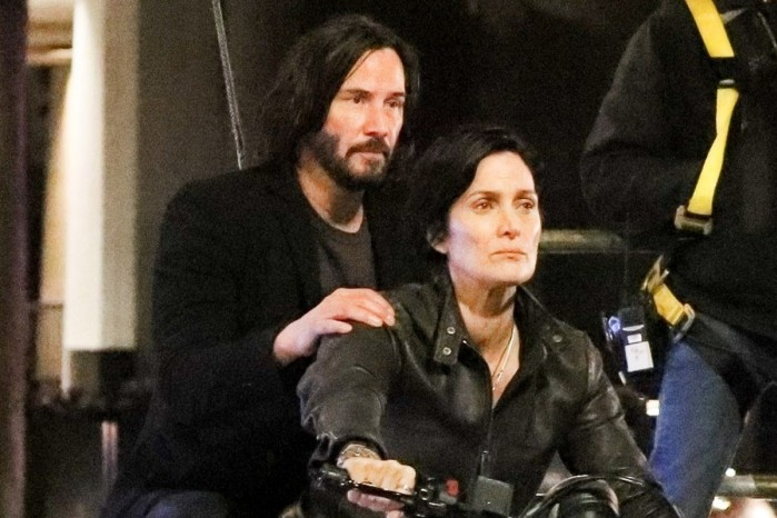Keanu Reeves Carrie Anne Moss 2020