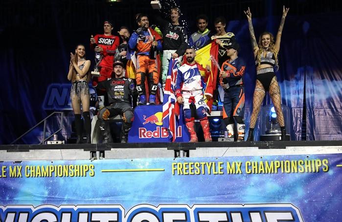 podium FMX of Nations friday