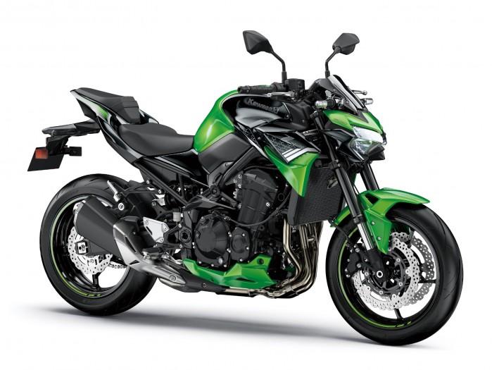 Kawasaki Z900MY2020 02 static green2