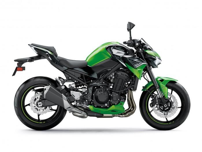 Kawasaki Z900MY2020 02 static green3