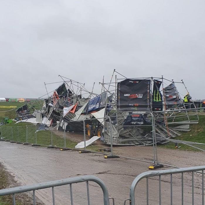 zniszczenia Matterley Basin