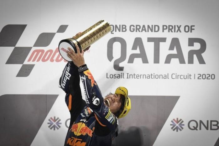 MotoGP Moto2 Katar wyscig podium Nagashima