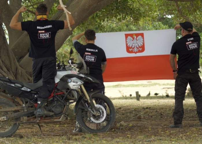 RPA na motocyklu