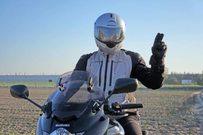 koronawirus motocykle