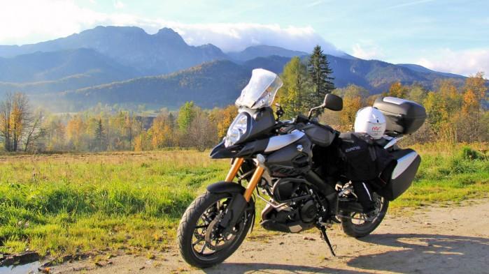 tatry na motocyklu
