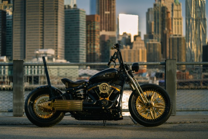 the new york rzeszow cutom bike Game over cycles goc