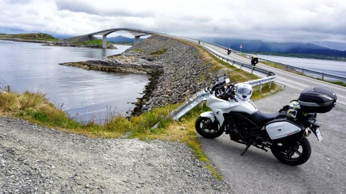 Norwegia i Finlandia na motocyklu 114