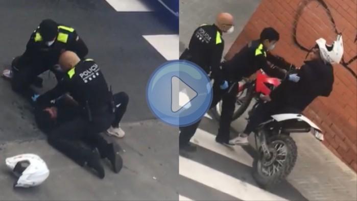 policja hiszpania