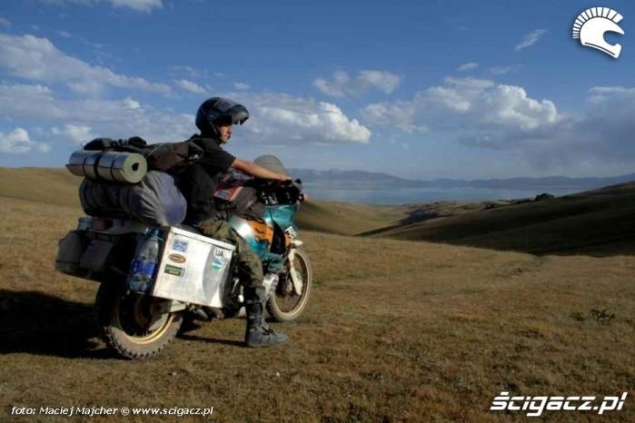 Kirgistan jezioro Song Kul