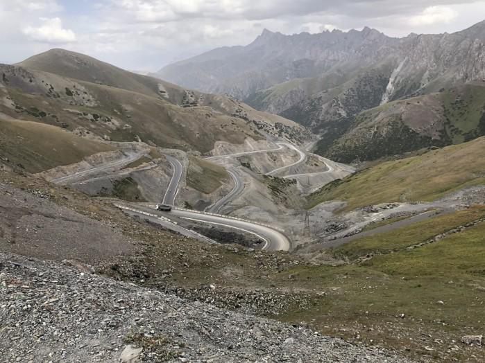 Kirgistan krete drogi