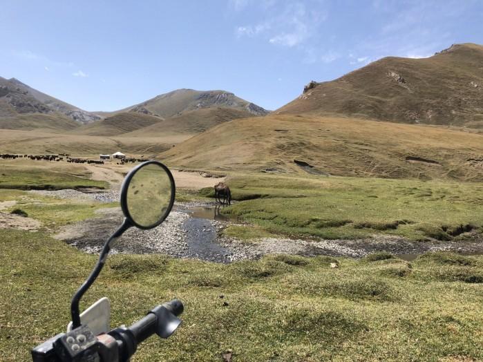 Kirgistan motocykl