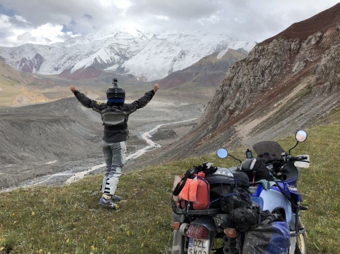 Kirgistan motocyklem