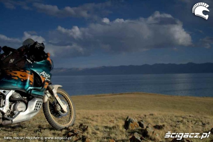 jezioro Song Kul i Africa Kirgistan