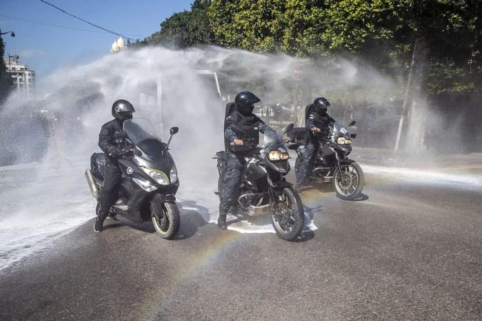 Dezynfekcja motocykla
