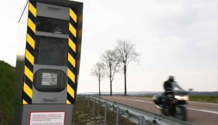 fotoradar motocykl