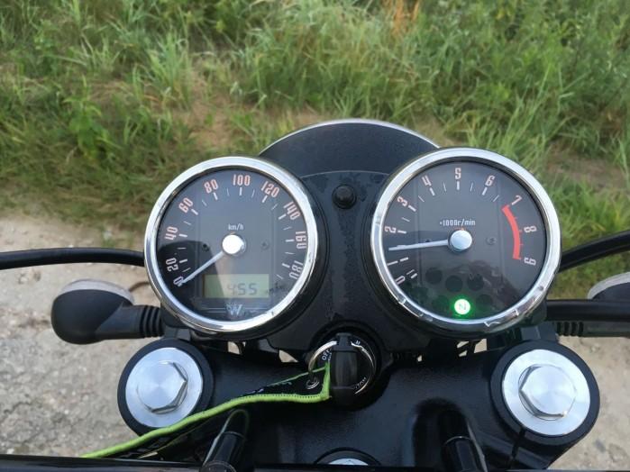 Kawasaki W800 Street 12 zegary