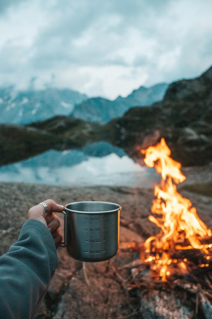 camping kubek