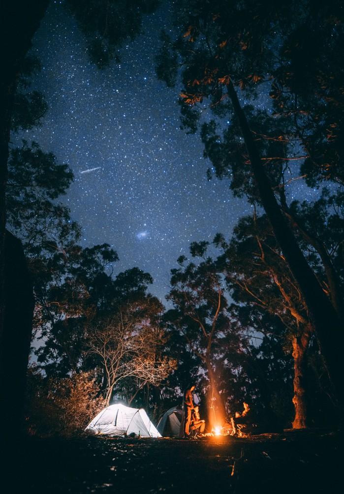 namiot camping
